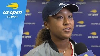 US Open Interview: Naomi Osaka