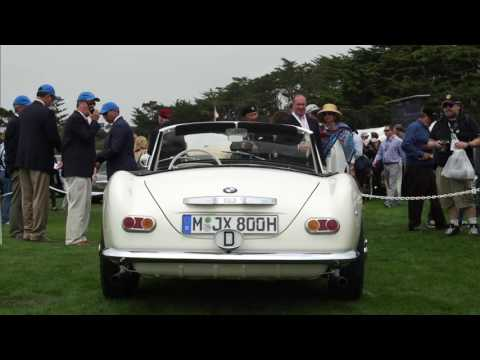 Elvis' BMW 507 at the Concours d'Eleganca in Pebble Beach, CA - PRMotor TV Channel