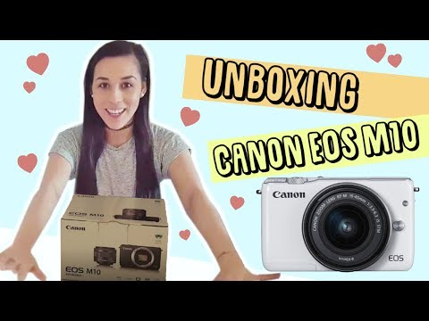 Unboxing Canon EOS M10 + Video & Photo test