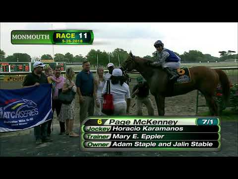 MONMOUTH PARK 5-26-18 RACE 11 - THE SALVATOR MILE