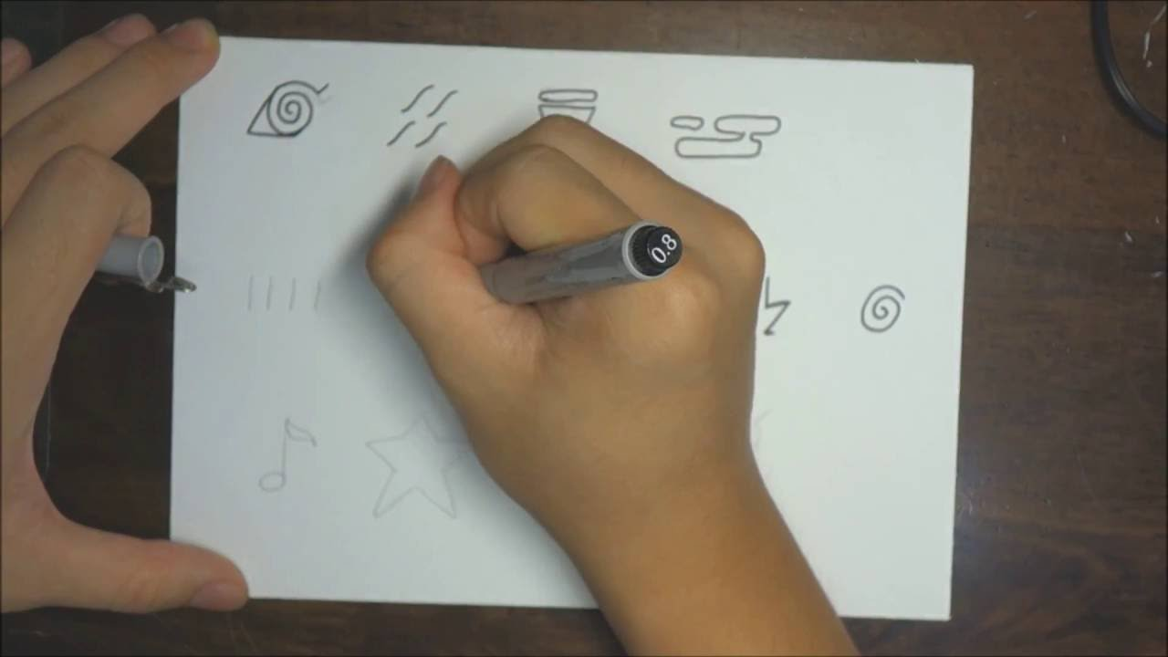 How to draw all naruto headband symbols youtube how to draw all naruto headband symbols biocorpaavc Image collections