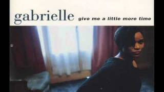 Gabrielle - Give Me A Little More Time (morales club mix)