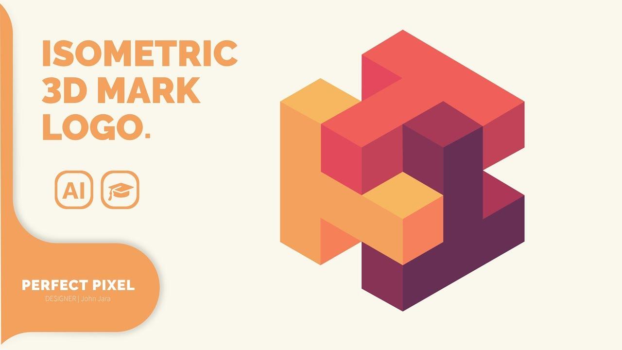 Isometric 3D Logo Mark - YouTube