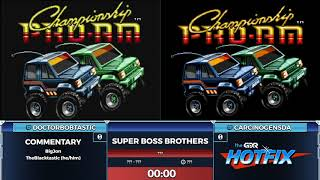 Super Boss Brothers Episode 2 - DoctorBobtastic vs CarconogenSDA