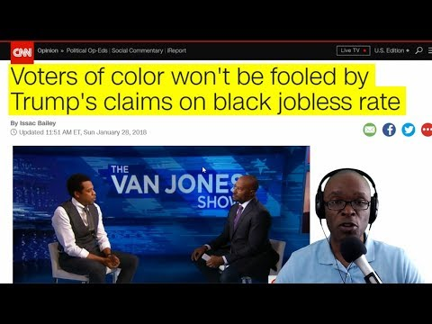 CNN Thinks Black People Shouldn't Thank Trump For Low Unemployment Rate And Tax Cuts (REACTION)