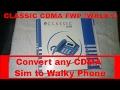 CDMA WALKY FWP/FCT (CDMA SIM BASED LANDLINE PHONE)