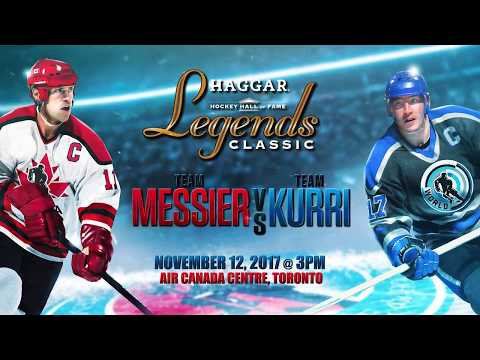 Team Kurri vs Team Messier - Haggar Hockey Hall of Fame Legends Classic