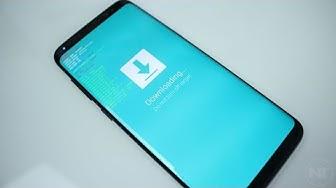 Wieder zurück auf Original Software   Samsung Galaxy [DE]