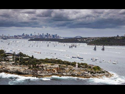 Rolex Sydney Hobart Yacht Race 2017 -  Race Start