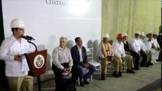 Cruza Javier Duarte caminando el Túnel Sumergido
