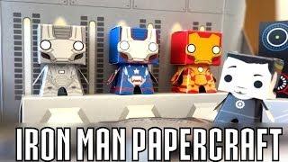 Iron Man Papercraft!
