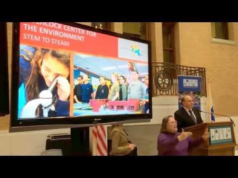 Senate President Rosenberg Presents MA Cultural Council STEM to STEAM Awards