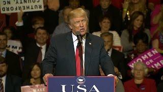 Trump 'thank you' rally in Michigan