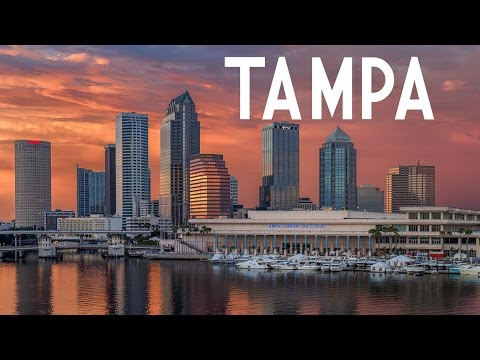 Time-lapse tour of Tampa, Florida