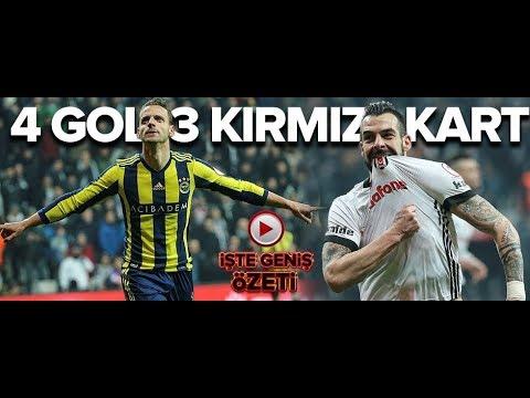 Beşiktaş 2-2 Fenerbahçe   ZTK yarı final ilk maç   01.03.2018   a spor