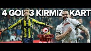 Beşiktaş 2-2 Fenerbahçe | ZTK yarı final ilk maç | 01.03.2018 | a spor