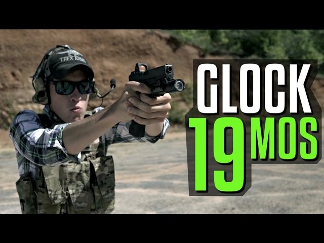 Glock 19 MOS with Trijicon RMR in Action