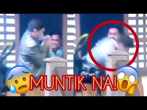 OFF CAM: Alden Richards Muntik Malaglag Sa Stage! (WHILE LIVE ON TV!)