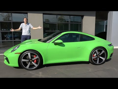 Porsche 911 992 2020 года - это новейшая версия иконы