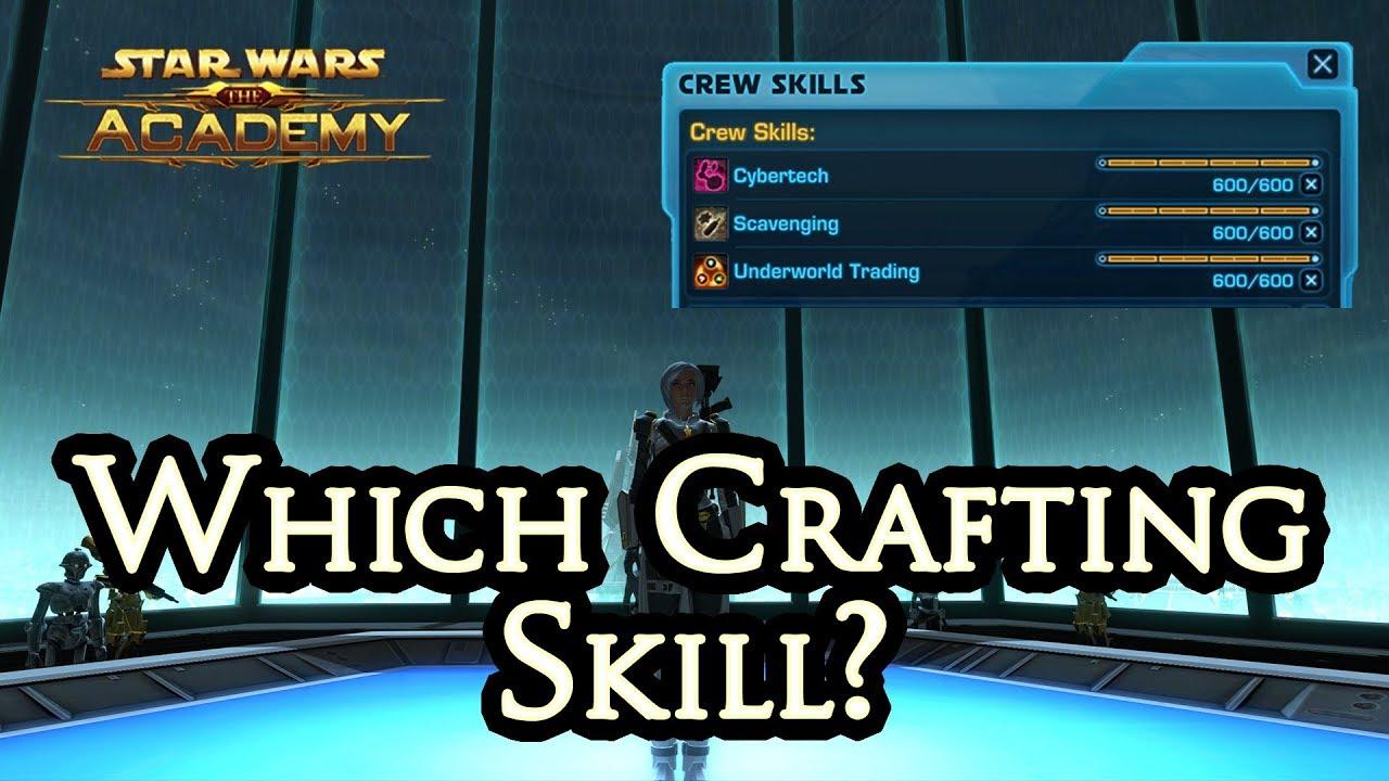 Which crafting skill should i choose the academy youtube for What craft should i do