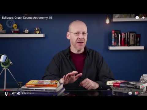Crash Course Astronomy Eclipses Intro