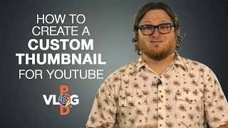 How to Create A Custom Thumbnail for YouTube | Video Blog How To | Vlog Pod Sunshine Coast