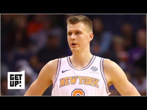Knicks trading Kristaps Porzingis 'caught me off guard' – Jeff Van Gundy | Get Up!