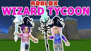 Roblox: Wizard Tycoon 🧙🏻 / 2-Player / Becoming the World's Most Powerful Wizard!