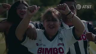 La embajadora de la Jornada 13 del Rayados vs Toluca.