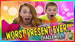 WORST PRESENT EVER CHALLENGE | 2ND EDITION | We Are The Davises