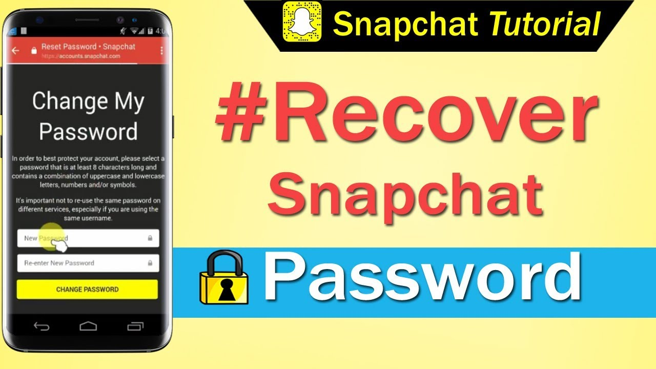 How to Recover Snapchat Password