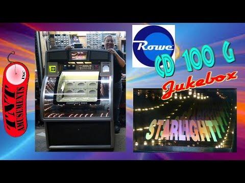 #115 ROWE CD 100G JUKEBOX-Wizard Of Oz, Raven, Black Belt Pinball Machines-TNT Amusements