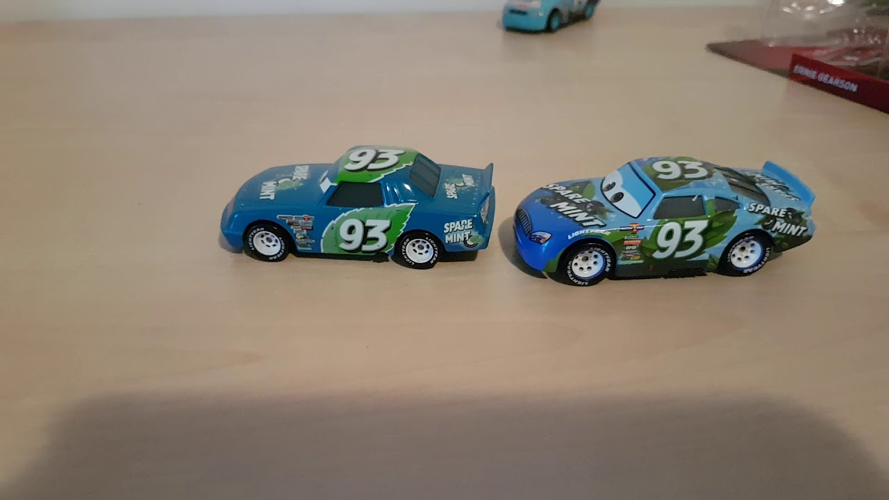 Mint Car: Mattel Cars & Cars 3 Ernie Gearson (Spare Mint #93)