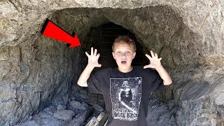 Exploring Secret Abandoned Mine!! (HAUNTED)