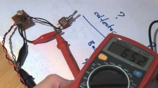 How to measure the gain (hfe) of Germanium Transistors