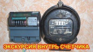 Что внутри электросчетчика, как работает электросчетчик(, 2016-01-24T17:12:37.000Z)