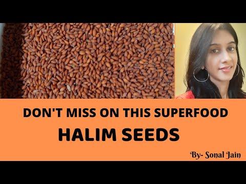CHANSUR | HALIM SEEDS BENEFITS & SIDE EFFECTS | SUPERFOOD | (HINDI)|