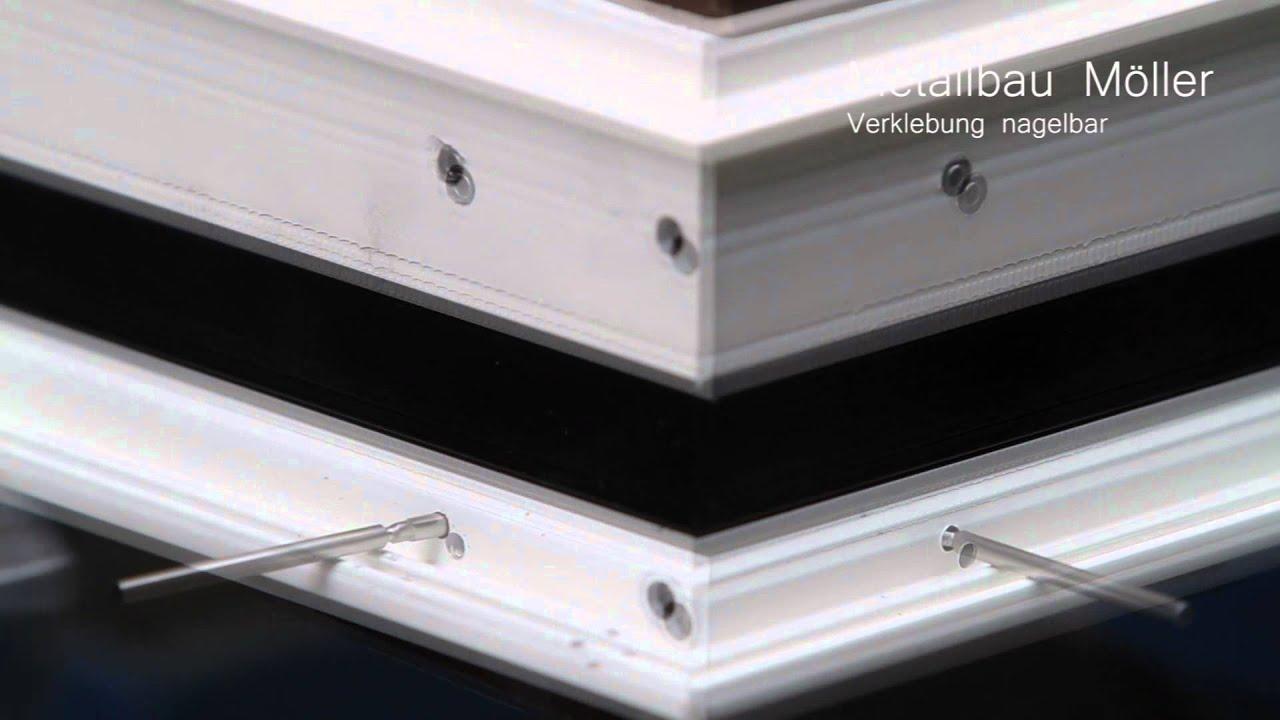 kleben von hand - metallbau möller gmbh&co.kg