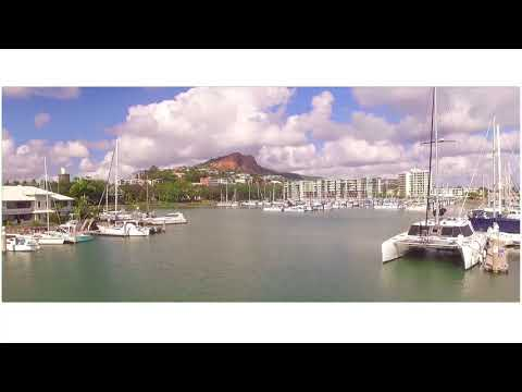How The Other Half Live - Luxury Boats at the Townsville Marina - from a DJI Phantom 3 Drone