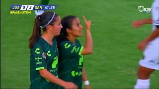 embeded bvideo FEMENIL | Resumen: Juárez 0-3 Santos Jornada 2 Liga BBVA Femenil Apertura 2019