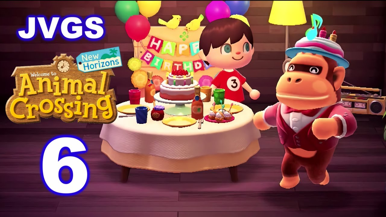 Louie S Birthday Animal Crossing New Horizons 6 Youtube