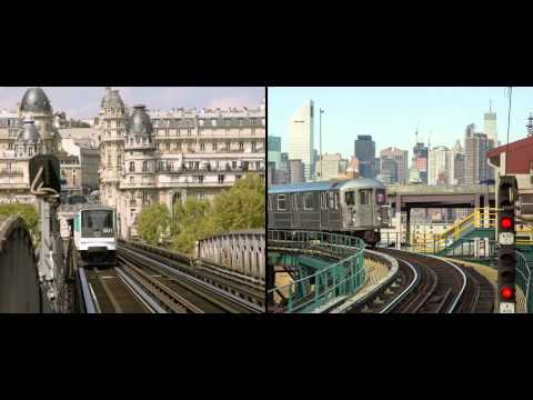 Paris vs  New York : the differences