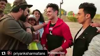 Priyank Sharma with Ranvijay and prince
