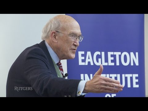 Alan Simpson at Eagleton Institute of Politics (Rutgers University)