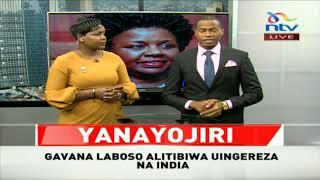 BREAKING NEWS: Governor Joyce Laboso is dead