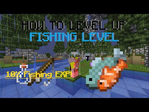 New 0.7.5 Skyblock Update! (How To Level Fishing Skill Fast!)