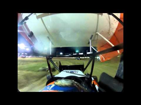 Miami County Speedway Blane Culp Incar 5-12-12 Wing Class