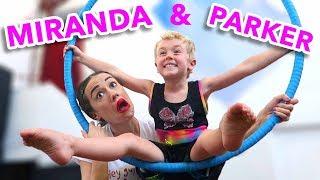 Silks & Aerial Gymnastics w/ Miranda Sings! (bts) Video