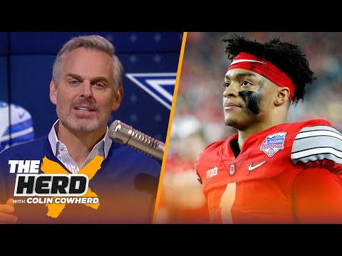 Cowboys should consider drafting Justin Fields, what's next for Patriots? — Colin | NFL | THE HERD