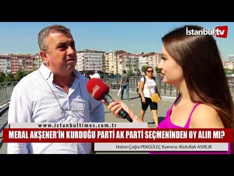MERAL AKŞENER'İN KURDUĞU PARTİ AK...